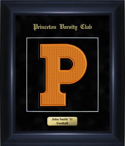 The Princeton Varsity Framed Letter