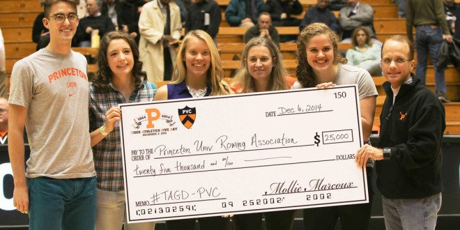 Princeton's First-Ever Tiger Athletics Give Day Sets New Record