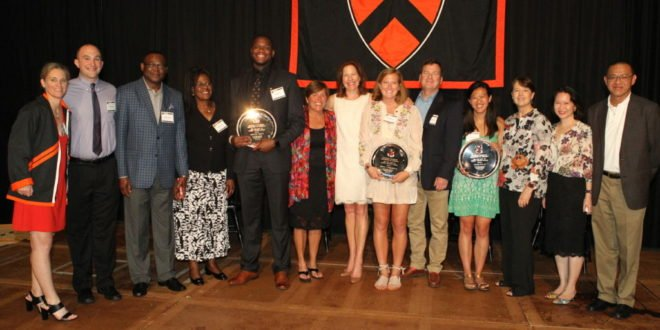 Seniors celebrated at the Gary Walters '67 PVC Awards Banquet
