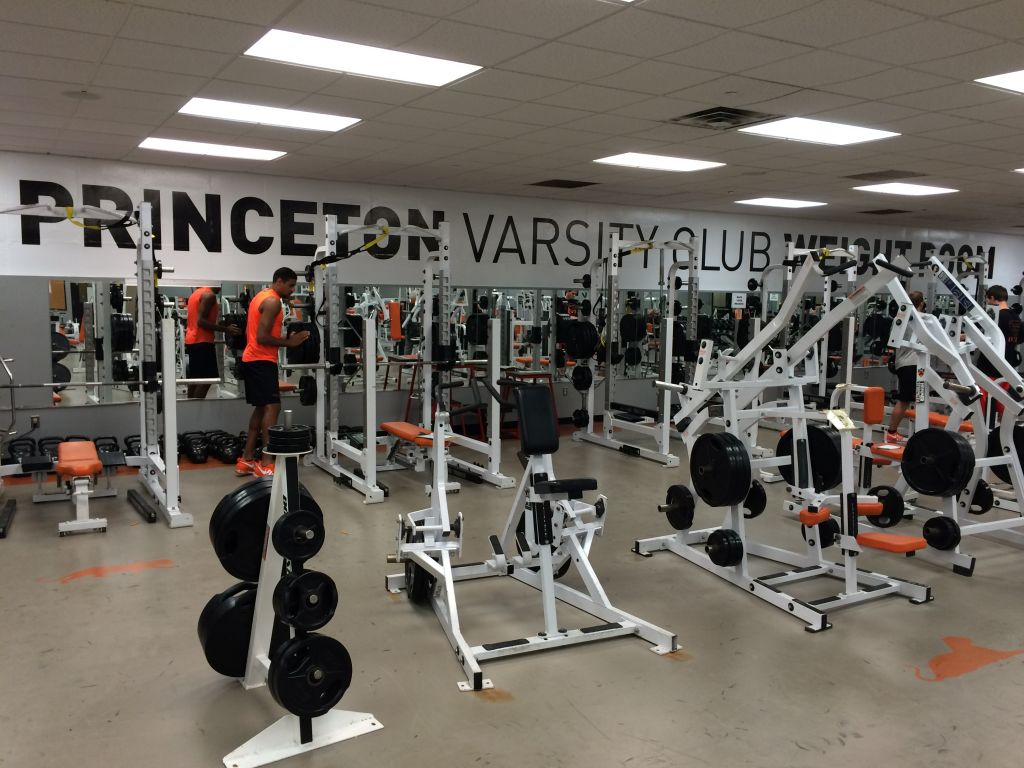 About the PVC Weight Room | Princeton Varsity Club