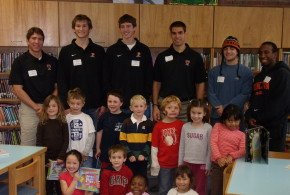 Reading with the Tigers: Johnson Park Elementary School – Fall '09