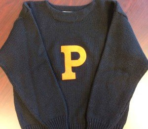 The Princeton Letter Sweater