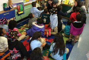 Reading with the Tigers Spring '15