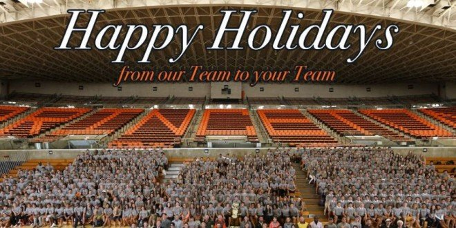 Happy Holidays from Princeton Athletics!
