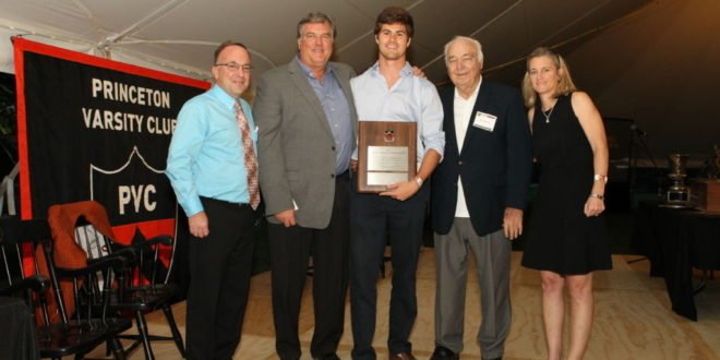 Barowski, Sanner capture top honors at Gary Walters '67 PVC Awards Banquet
