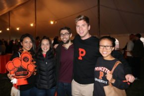 Tigers Tackle Harvard (Tiger Tent 2017)