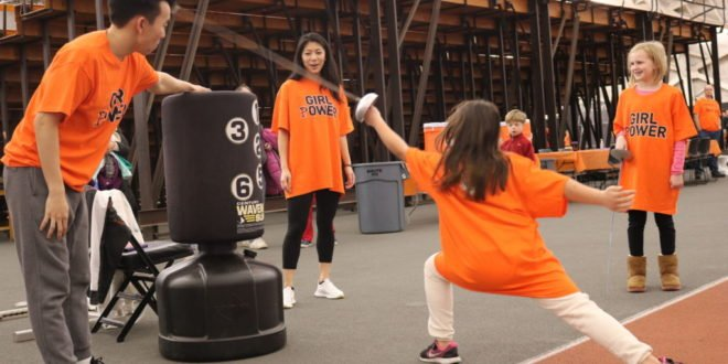 PVC Hosts Youth Clinic for National Girls & Women in Sports Day
