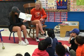 """Reading with the Tigers"" – Princeton Public Schools (Spring 2018)"