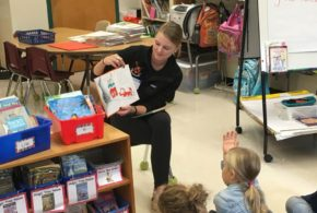 """Reading with the Tigers"" – Princeton Public Schools (Fall 2018)"
