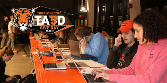 Tiger Athletics Give Day (#TAGD) returns on Tuesday, Nov. 27