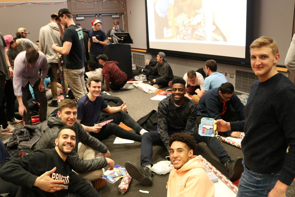 Teams & Toys: Student-Athletes Give Back for the Holidays