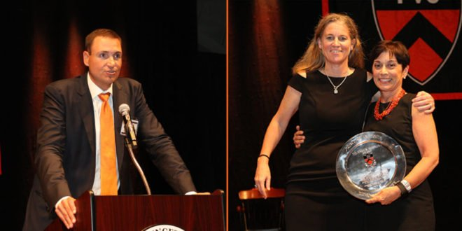 Young, Jezierny Honored at Gary Walters '67 PVC Awards Banquet