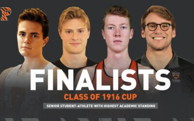 Four Tigers Named Finalists for the Class of 1916 Cup
