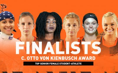 Six Tigers Named Finalists for C. Otto von Kienbusch Award